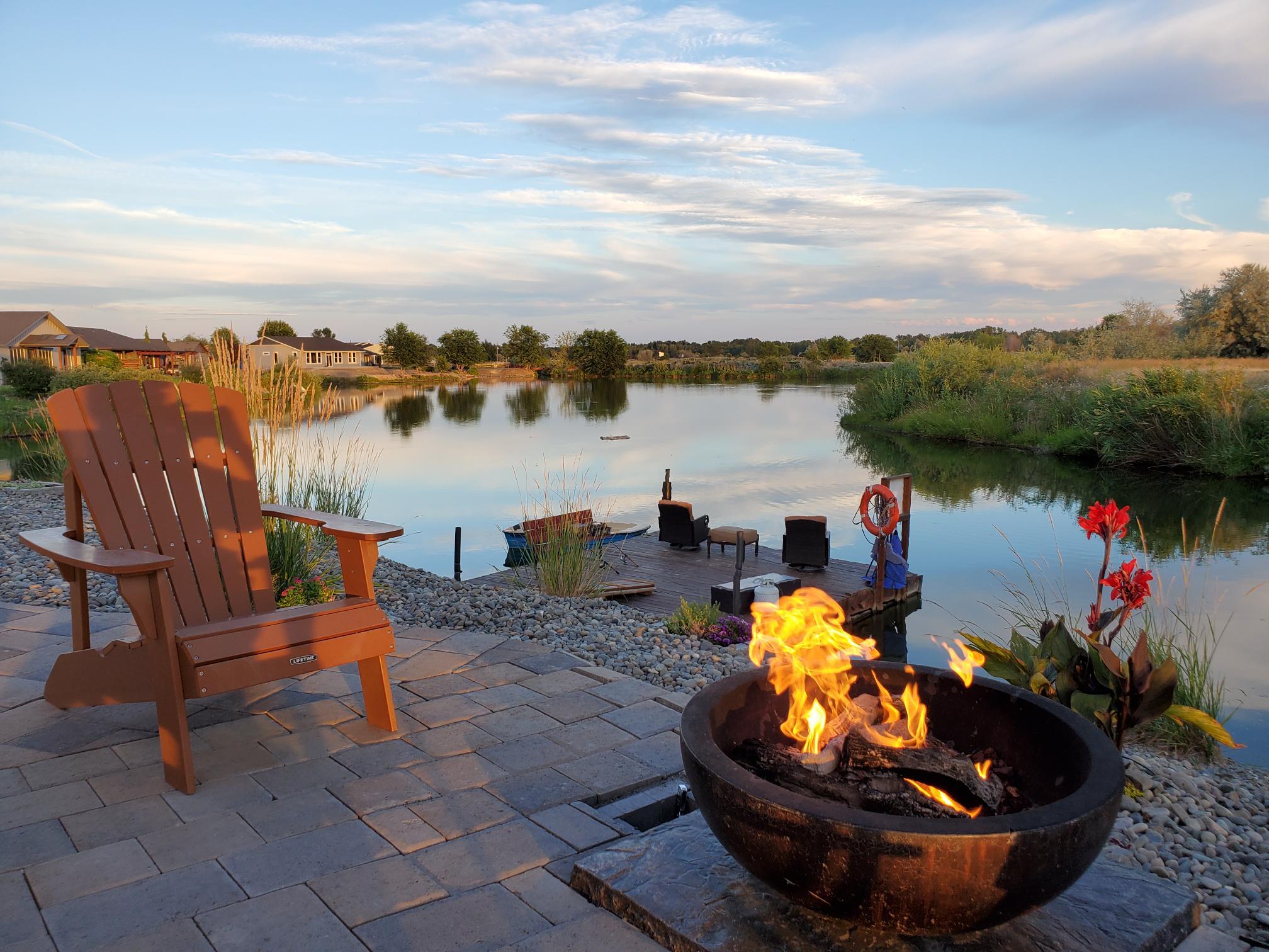 Best View -Best Evening Firepit